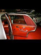 Mercedes w108 w109   sonderausstattung seiten vorhäng edge curtain
