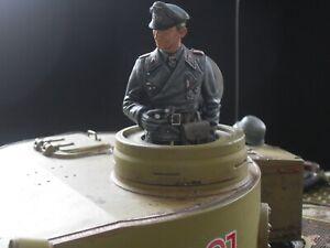 Tamiya/Airfix 1/16 German Tank commander crew WW2. pro painted. heng long