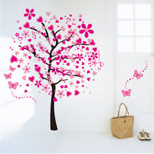 Wall Sticker Wall Decals Tree Heart Love Tattoo Wall Art Home Decor Living Room