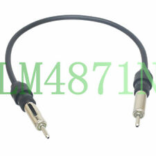 Car audio radio AM/FM CD Stereo DIN M/M Aerial antenna RG58 Extension Cable 1FT