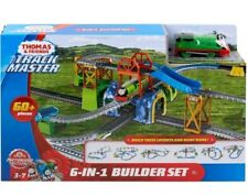 Thomas & Friends Trackmaster 6in1 Builder 60 PC Include 1 Percy