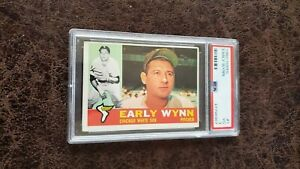1960 Topps Early Wynn #1 - PSA 3 - Chicago White Sox
