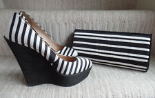 Aldo Ladies Wedge Heel Platform Shoes size 38 UK5