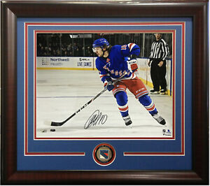 Artemi Panarin signed 16x20 photo framed Rangers coin autograph Fanatics COA