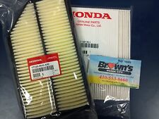 NEW GENUINE HONDA ODYSSEY ENGINE / IN CABIN  AIR FILTER SET 2011-2017