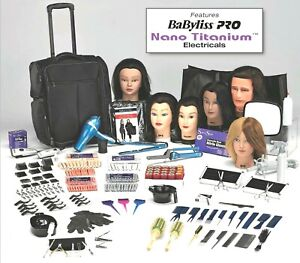 Professional Student Cosmetology Kit-Premium Lev with Carrying Case & Tote Bag