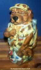 CHOCOLATE-LABRADOR Porcelain Stein 2nd in Man's Best Friend Series M Cornell