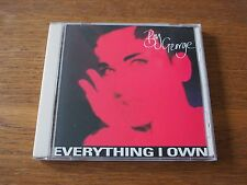 Rare BOY GEORGE Everything I Own 1993 CD Maxi Single SKB Records K2-58089