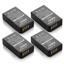 Battery For Nikon J1 J2 J3 S1 V3 &Blackmagic Pocket Camera /4x EN-EL20 EN-EL20A
