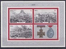 Sud Africa South Africa 1979 Foglietto Bf 7 Scene della battaglia di Zouloul MNH