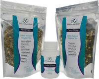 ANTI-STRESS & ANXIETY RELIEF COMBO WITH GABA CAPSULES & ORGANIC CALMING HERBS
