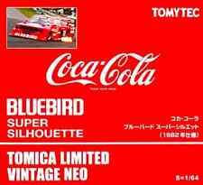 TOMICA LIMITED VINTAGE COCA COLA NISSAN BLUEBIRD SUPER SILHOUETTE FORMULA CAR