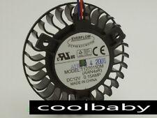 58mm T127015DM 3Pin 0.15A Fan for VGA Video Card Asus 9600 EN9600GT
