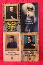 Anne Perry - Lot de 4 poches - Livre - Occasion