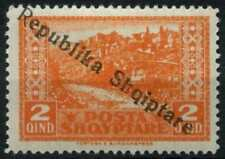 Albania 1925 SG#179, 2q Orange Optd MH #D61448
