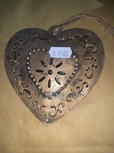 - Shabby Chic Hanging Heart Plaque Sign  Gift X 5