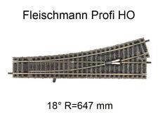 Aiguillage droit à gauche - 200 mm - voie Profi HO - FLEISCHMANN 6170