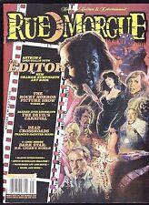 RUE MORGUE 159 HORROR FILM MAGAZINE THE EDITOR SLAYER ROCKY HORROR PICTURE SHOW