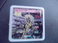 IRON MAIDEN KILLERS ALBUM COVER    BADGE PIN