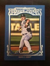 2013 Topps Gypsy Queen Blue Framed Paper Phil Hughes Yankees 296 /499