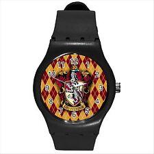 Reloj deportivo nuevo Harry Potter Gryffindor Redondo Colegio Hogwarts Negro Mediana D01