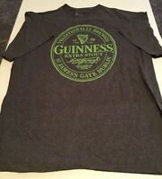 Guinness Adult Unisex T-Shirt Size L Gray