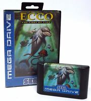 Sega Mega Drive - Ecco The Tides of Time Computer Video Game Tested & Working