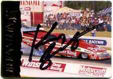 Kenny Bernstein Action Packed NHRA Authentic Hand Signed Autographed Card