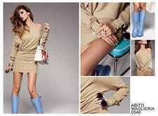 DENNY ROSE ABITO miniabito vestito maglieria art.0546 taglia M