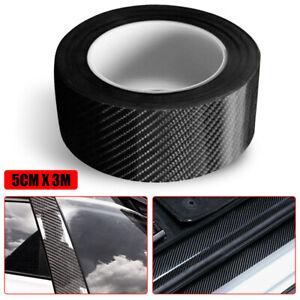 5D Carbon Fiber Strip Car Door Sill Scuff Cover Anti Scratch Sticker Accessories