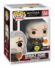Funko Pop! Games: The Witcher 3: Wild Hunt - Geralt (IGNI) (Glows in the Dark) Vinyl Figure (GameStop Exclusive)