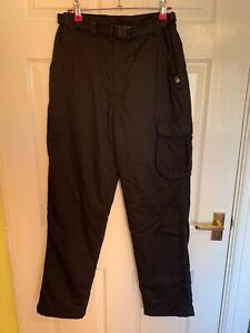 Black Karrimor Trousers Size Small (A2368)