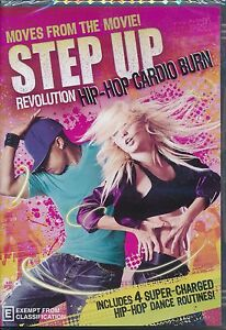 Step Up!: Revolution Hip Hop Cardio Burn DVD