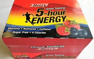 5 Hour Energy Berry 12 Count Box 1.93 Oz Shots