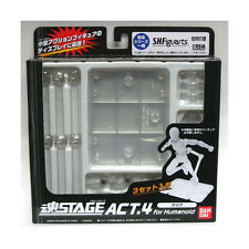 Tamashii Stage Act.4 Humanoid (Clear) S.H.Figuarts Display Stand Bandai