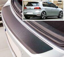 VW Golf MK6 3/5 puertas - Estilo Carbono parachoques trasero Protector