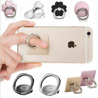 Finger Grip 360° Rotating Ring Stand Holder for Mobile Phone iPhone Tablet iPad
