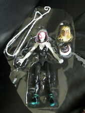 """Marvel Legends 6"""" Into the Spider-Verse Spider-Gwen Stacy Ghost Loose New Mint"""