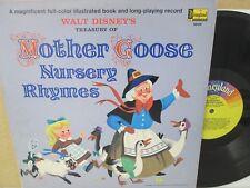 WALT DISNEY- Mother Goose The Best of/Nursery Rhymes Soundtrack LP Vinyl EX-