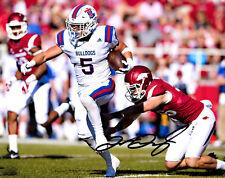 Trent Taylor Louisiana Tech Bulldogs signed autographed 8x10 football photo g