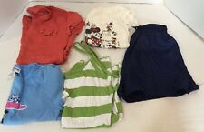 Lot Of Girls Size 7-8 Summer Clothes Short Sleeve Shirts Shorts Minnie Mouse