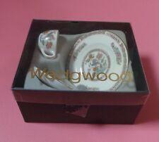 Wedgwood Kutani Crane Miniature Cup, Saucer & Plate BOXED