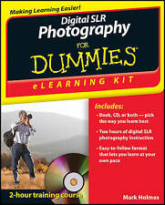 Digital SLR Photography eLearning Kit For Dummies by Mark Holmes (Paperback,...