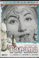 Tarana - Madhubala ,Dilip Kumar  [Dvd] 1st Edition Video Sound    Released