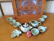 Tea Set Traditional Ceramic Chinese Teaware Ceremonial Tea Set Gift Boxed - QTea