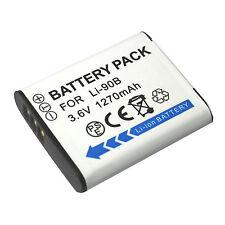 LI-90B, LI90B, LI-92B, LI92B Li-ion Batería Para Olympus cámara digital 1270mAh