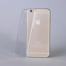 TRASPARENTE IN SILICONE Gel Custodia Cover Ultra Slim per iPhone 6g 6s schermo da 4.7
