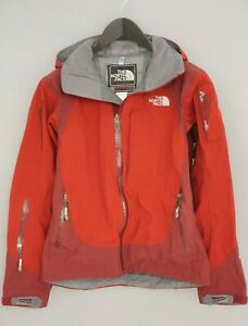 Woman The North Face Jacket Red Skiing Snowboarding Gore-tex Softshell S XIK458