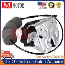 NEW 1647400735 Lift Gate Lock Latch Actuator for Mercedes-Benz GL ML R Class US