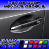 4x Lexus Door Handle Decal Sticker GX RC emblem IS200 IS350 ISF RX